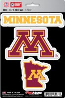 Minnesota Golden Gophers Team Decal Set