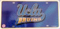 Ucla Bruins Metal License Plate