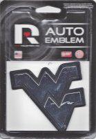 West Virginia NCAA Plastic Auto Emblem