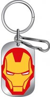 Avengers Iron Man Metal Dog Tag Keychain