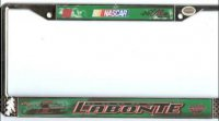 Bobby Labonte #18 License Plate Frame