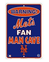 New York Mets Man Cave Metal Parking Sign