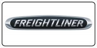 Freightliner Logo On White Photo License Plate