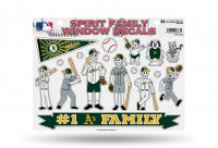 Oakland Athletics Family Decal Set