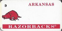 Arkansas Razorbacks NCAA Key Chain