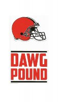 Cleveland Browns Double Up Die Cut Vinyl Stickers
