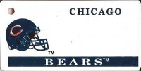 Chicago Bears NFL Key Chain