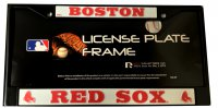 Boston Red Sox Black License Plate Frame