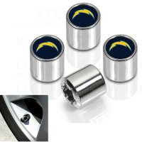 Los Angeles Chargers Chrome Valve Stem Caps