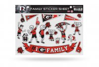 Georgia Bulldogs Family Decal Set