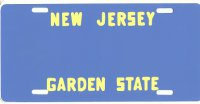 Design It Yourself Custom New Jersey State Look-Alike Plate #2