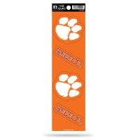 Clemson Tigers Quad Decal Set