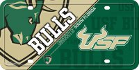 South Florida Bulls Metal License Plate