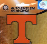 Tennessee Volunteers 3-D Color Metal Auto Emblem