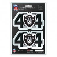 Oakland Raiders 4x4 Decal Pack