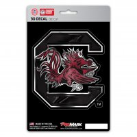 South Carolina Gamecocks Die Cut 3D Decal