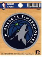 Minnesota Timberwolves Short Sport Decal
