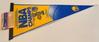 Golden State Warriors NBA 4X Champs 2015 Pennant
