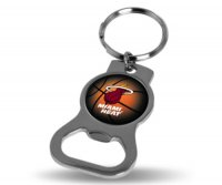 Miami Heat Key Chain And Bottle Opener