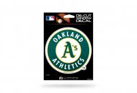 Oakland Athletics Glitter Die Cut Vinyl Decal