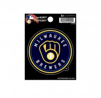 Milwaukee Brewers Short Sport Decal