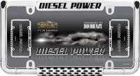 Diesel Power Chrome License Plate Frame