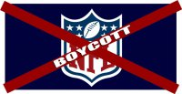 Boycott NFL #2 Photo License Plate