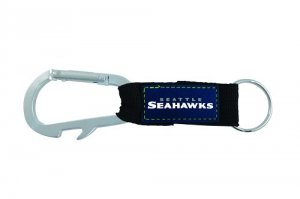 Seattle Seahawks Carabiner Key Chain