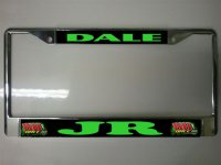 Dale Earnhardt Jr. #88 Photo License Plate Frame
