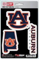Auburn Tigers Team Decal Set