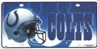Indianapolis Colts Metal License Plate