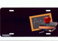 Teacher / Educator Offset License Plate