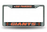 San Francisco Giants Glitter Chrome license Plate Frame
