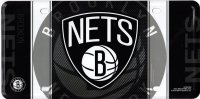 Brooklyn Nets Metal License Plate