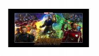 Avengers Infinity War Photo License Plate