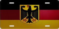 Germany Flag Photo License Plate