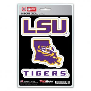 Louisiana State University Tigers Team Decal Set
