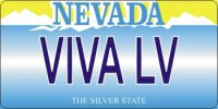 Design It Yourself Nevada State Look-Alike Bicycle Plate #2