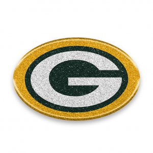 Green Bay Packers Color Bling Emblem