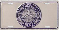 Mercedes Benz License Plate