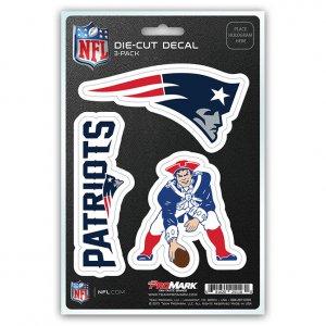 NEW England Patriots Team Decal Set