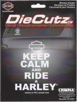 Harley-Davidson Keep Calm Decal