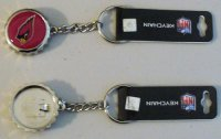 Arizona Cardinals Bottle Cap Keychain