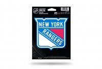New York Rangers Glitter Die Cut Vinyl Decal