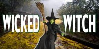 Wicked Witch Photo License Plate