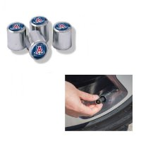 Arizona Wildcats Chrome Valve Stem Caps