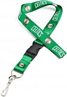 Boston Celtics Lanyard With Neck Safety Latch