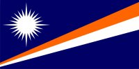 Marshall Islands Flag Photo License Plate