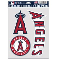 Los Angeles Angels 3 Fan Pack Decals