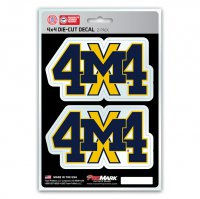 Michigan Wolverines 4x4 Decal Pack